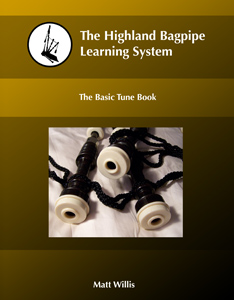 The Highland Bagpipe Learning System Tune Book