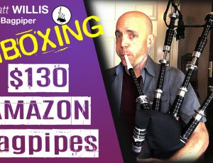 Matt's Amazon Pakistani Bagpipe Challenge