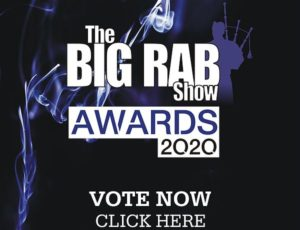 Finalist for The Big Rab Show Awards! Vote now!